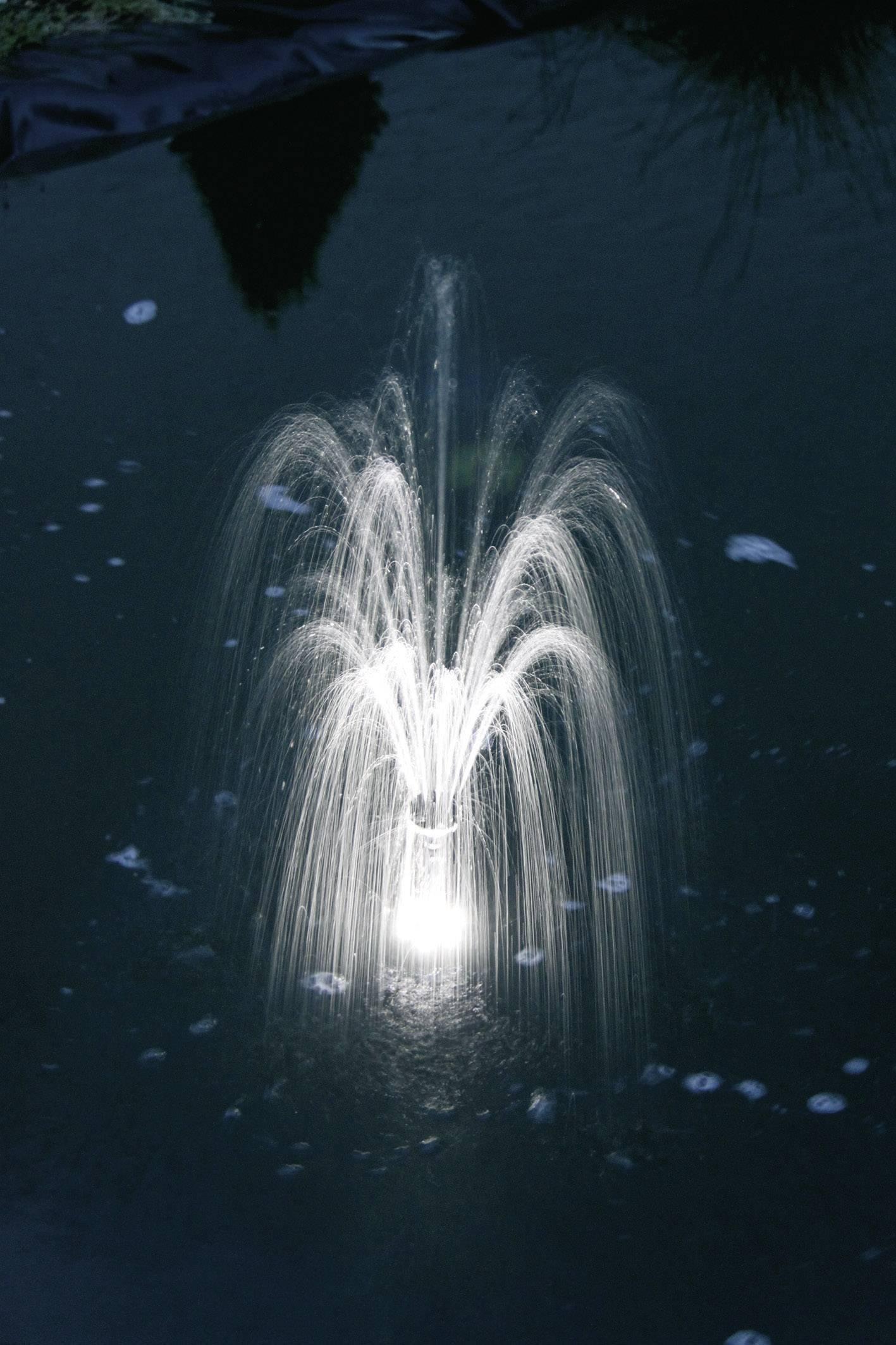 LED krúžok pre fontány Esotec, biely