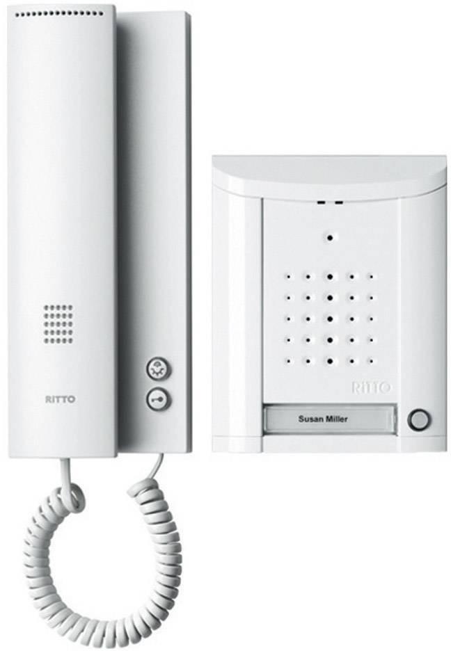Káblový dverový telefón Ritto by Schneider Entravox 1841170, biela