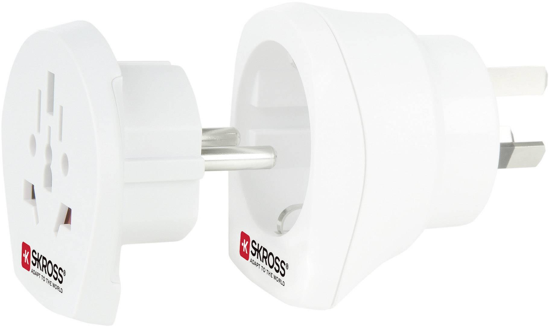 Cestovní adaptér Skross, 1.500210, Austrálie, bílá