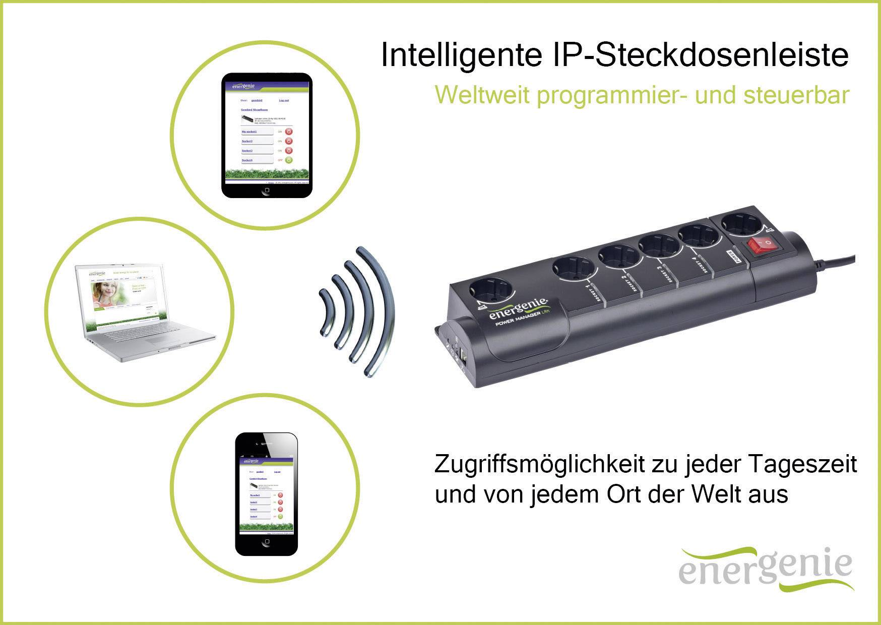 Zásuvková lišta s prepäťovou ochranou Gembird EG-PMS2-LAN, 6 zásuviek, čierna