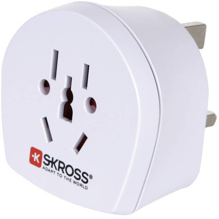 Cestovní adaptér Skross, 1.500220, Velká Británie, bílá