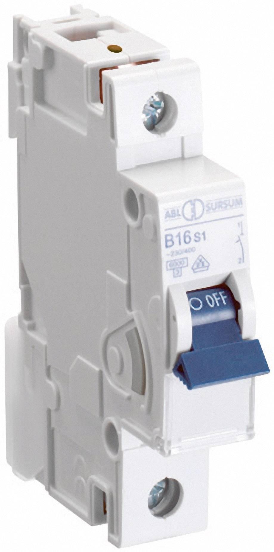 Elektrický istič ABL Sursum B13S1, 1-pólový, 13 A