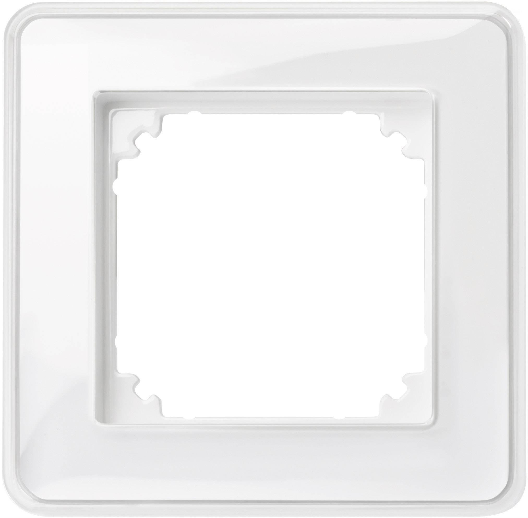 Rámeček 1násobný Merten M-Creativ, polární bílá (MEG4010-3500)