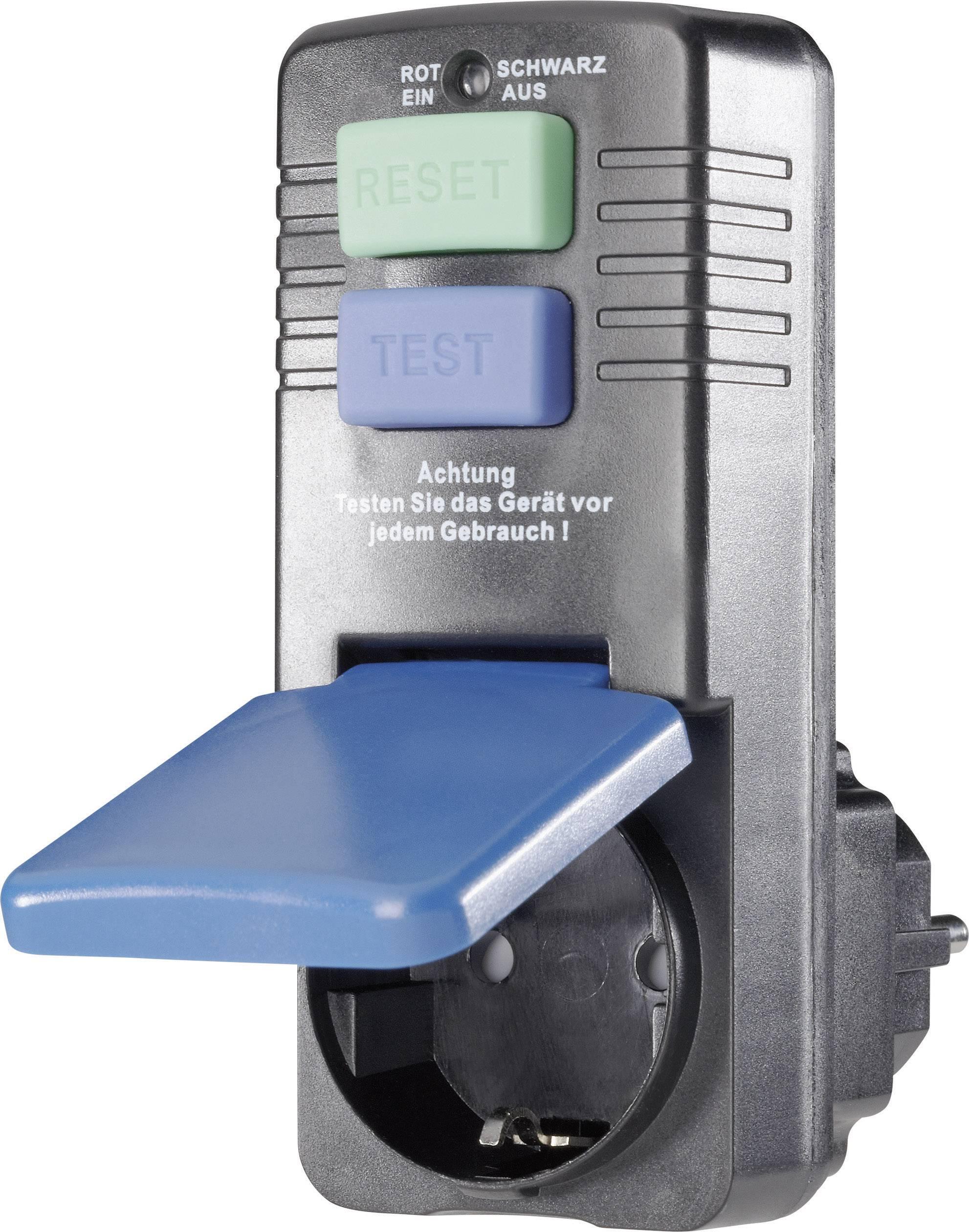 Bezpečnostná mezizásuvka, IP 40, 10 mA