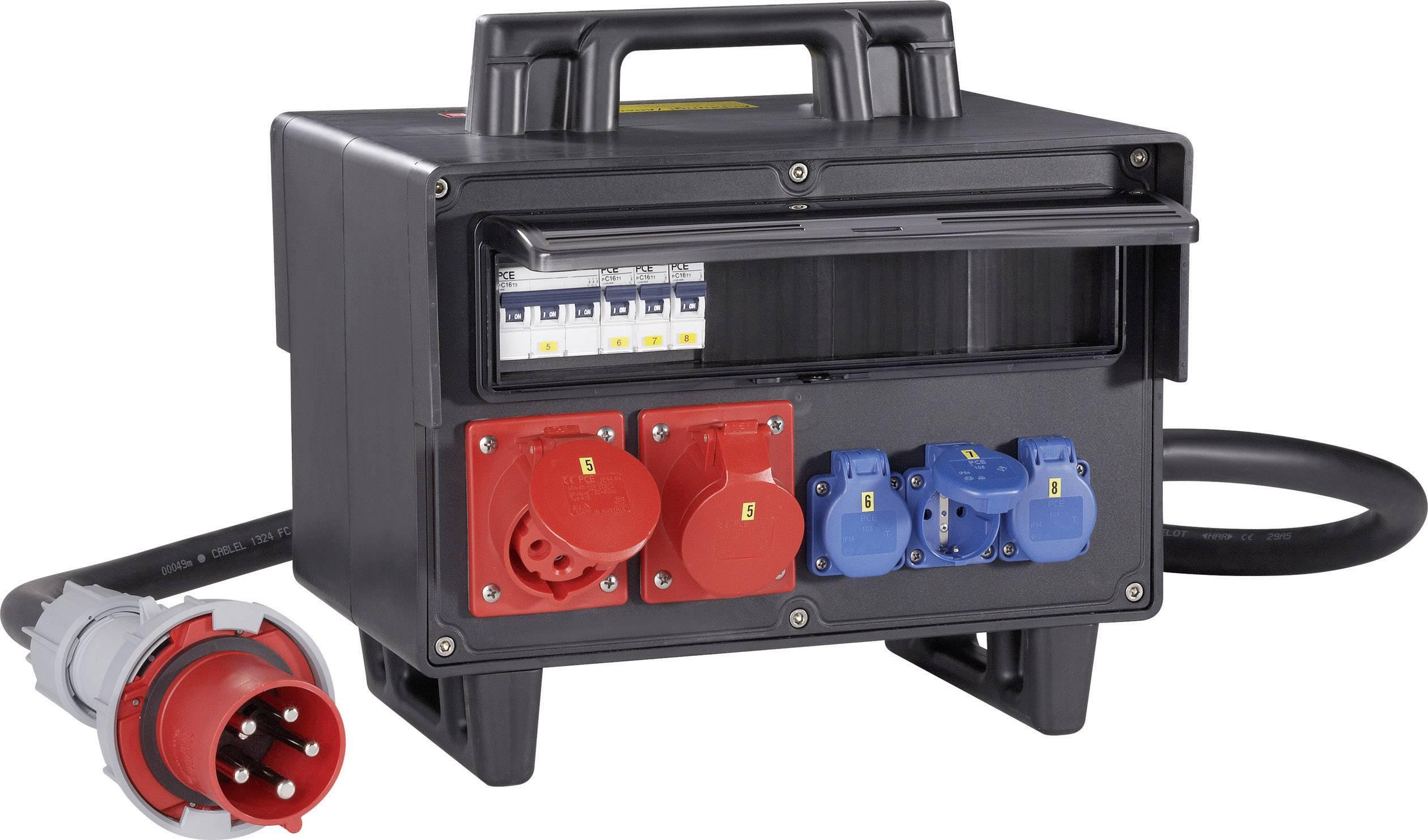 CEE rozbočovač PCE 9504003, 400 V, IP44