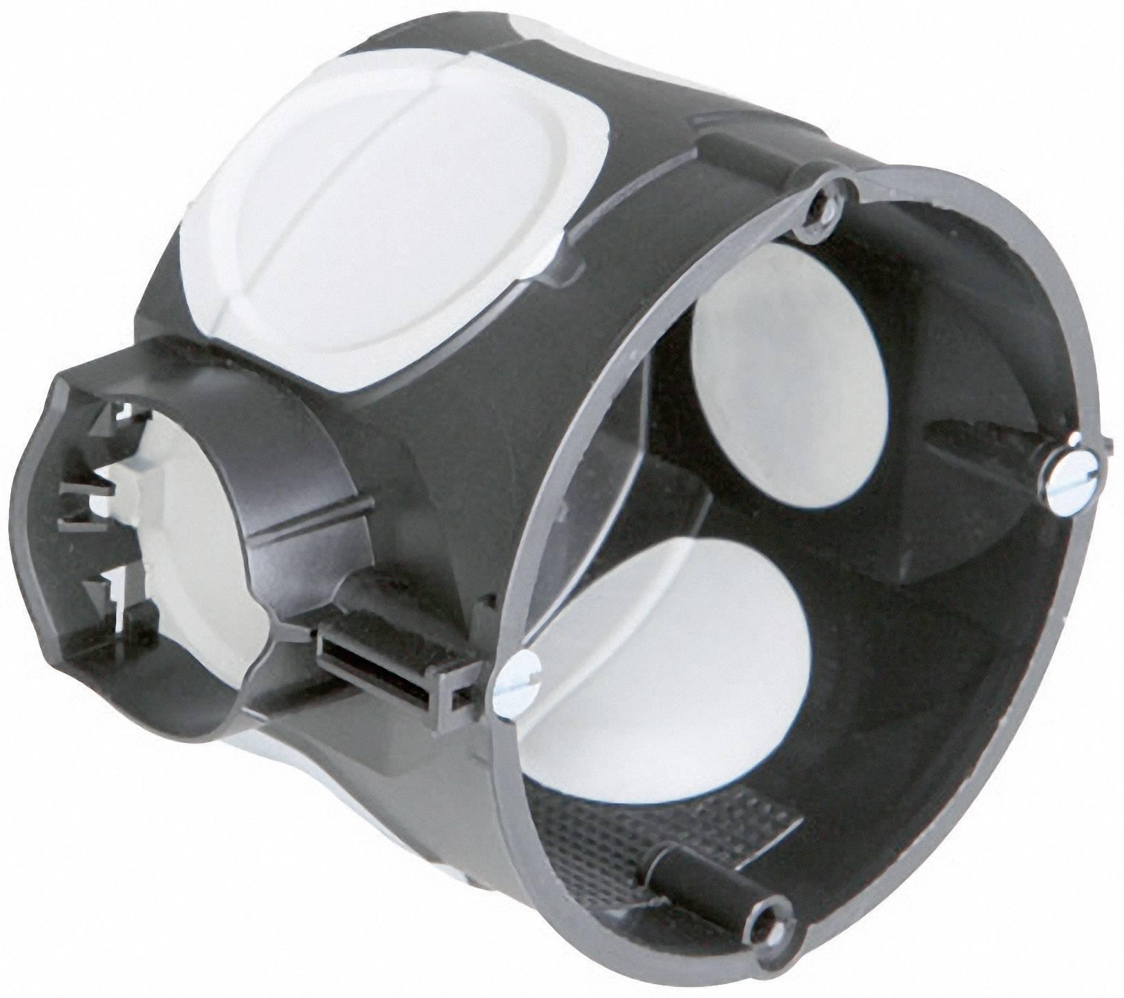 Inštalačná krabica Kaiser Elektro ECON 10, 1056-21, 46 x 60 mm, vrátane skrutiek, čierna