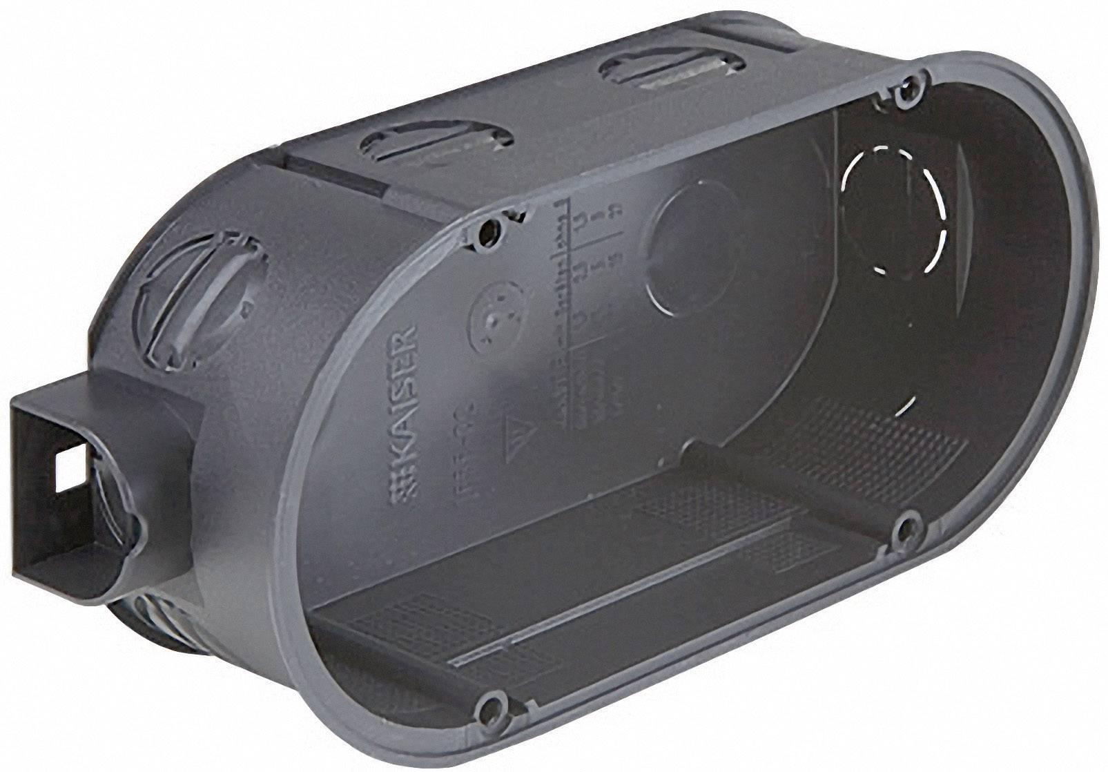 Dvojitá prepojovacia krabica Kaiser Elektro 1655-02, bez skrutiek