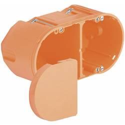 Instalační dvojkrabice do dutých zdí Kaiser Elektro 9062-94, hloubka 75 mm, oranžová