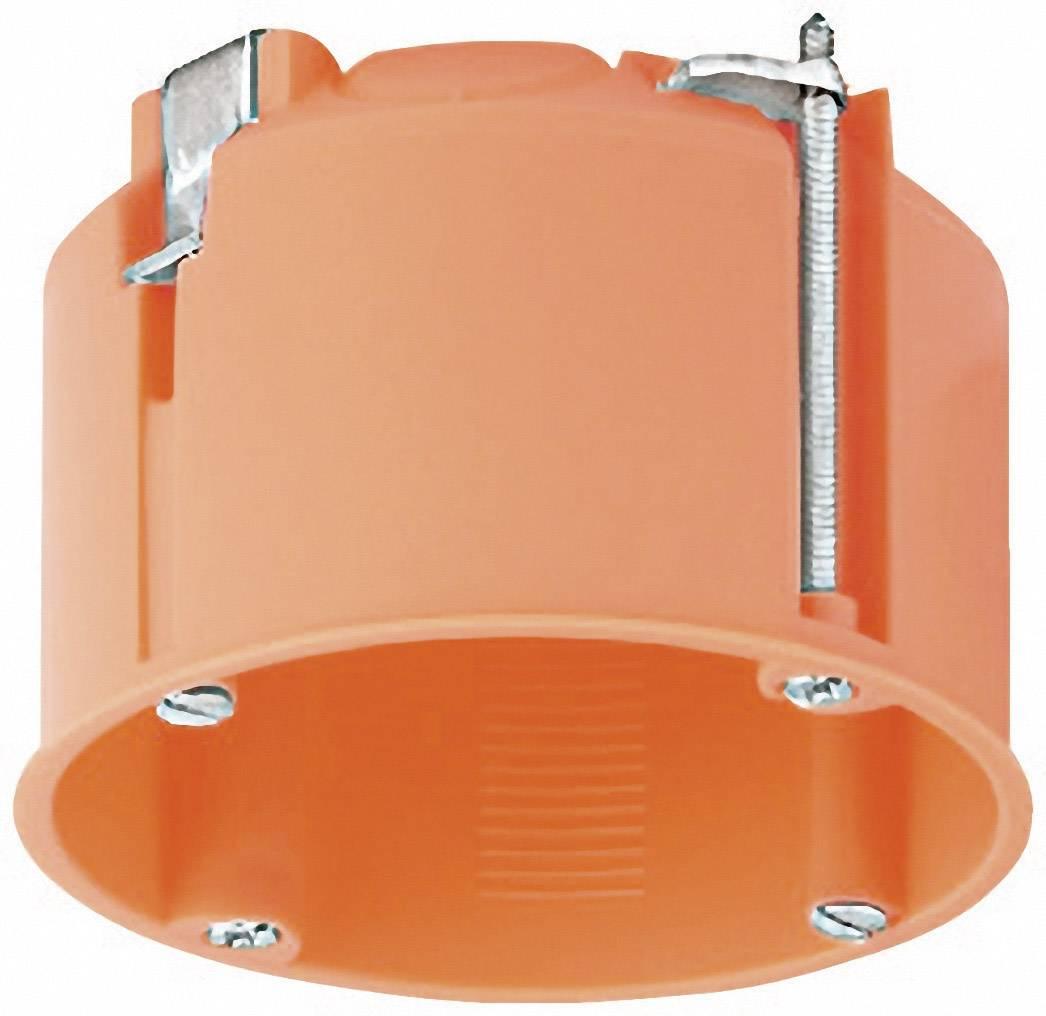 Škatule do dutých stien Kaiser Elektro 9063-50, pre osvetlenie, 68 x 47 mm, oranžová