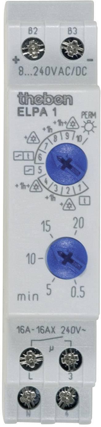 Schodiskový spínač Theben Elpa1, analógový, 16 A, 230 V, 0.5 - 20 min, 10002