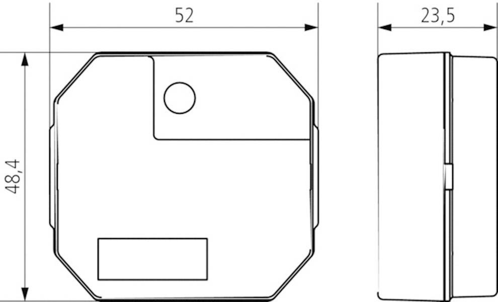 Schodiskový spínač na DIN lištu Theben ELPA 041, 10 A, 230 V, 0.5 - 20 min, 410002