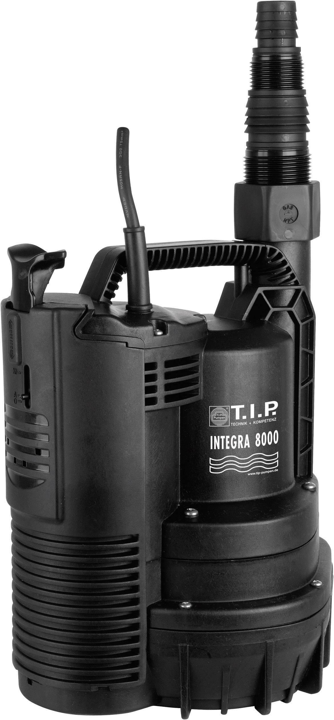 Ponorné čerpadlo T.I.P. Integra 8000 30166, 8000 l/h, 7 m