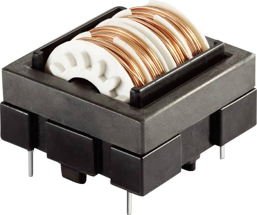 Síťový filtr do DPS Schaffner, EH24-2,0-02-2M5, 2,5 mH, 250 V/AC, 2 A