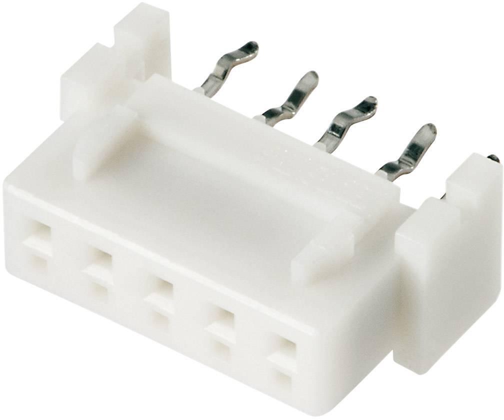Zásuvkový konektor do DPS JST 04JQ-BT 04JQ-BT, 6 mm, pólů 4, rozteč 2.50 mm, 1 ks