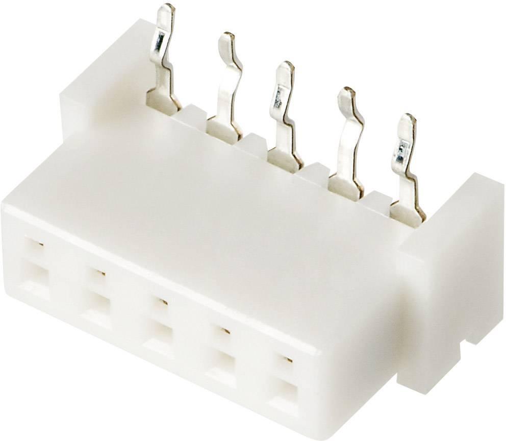 Zásuvkový konektor do DPS JST 04JQ-ST 04JQ-ST, 6 mm, pólů 4, rozteč 2.50 mm, 1 ks