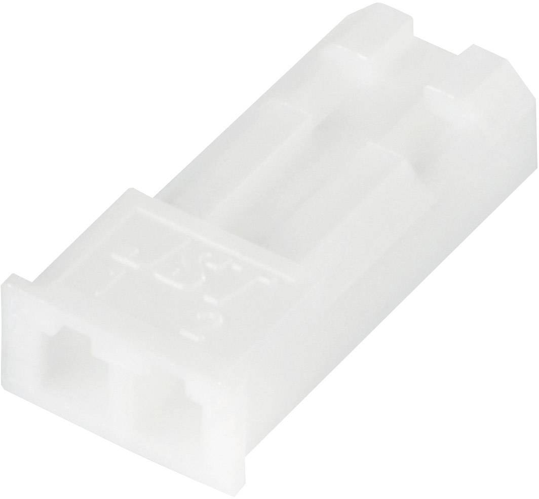 Zásuvkové puzdro na dosku JST SYP-02TV-1 SYP-02TV-1, pólů 2, rozteč 2.50 mm, 1 ks