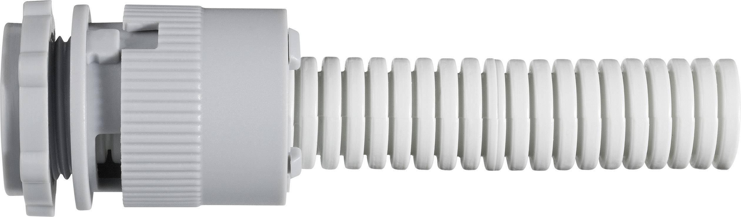 Rychlospojka pro trubky, 25 mm, šedá