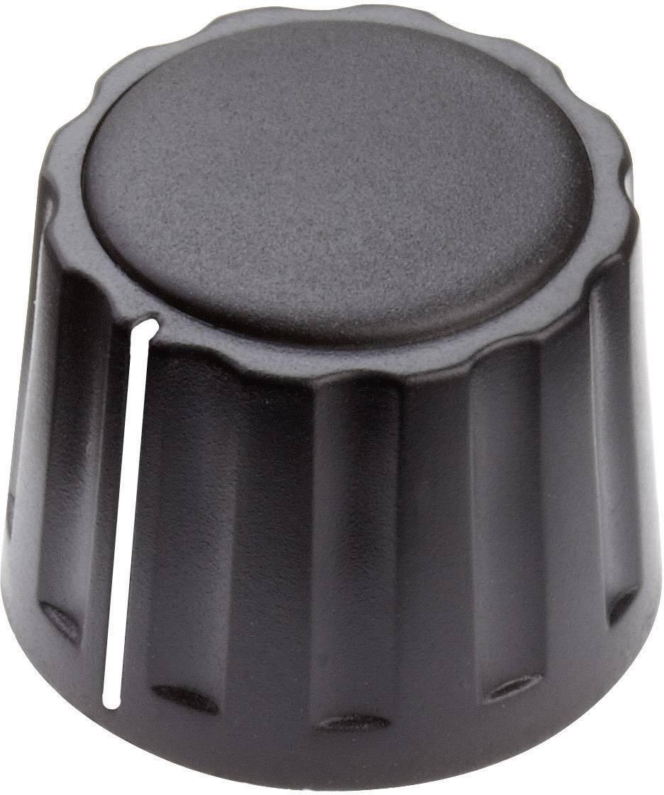 Otočný gombík Mentor 4332.4001, (Ø x v) 20 mm x 15 mm, čierna, 1 ks