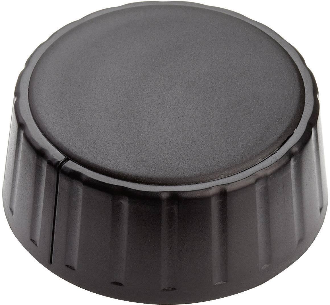 Otočný gombík Mentor 4335.6000, (Ø x v) 48 mm x 19 mm, čierna, 1 ks