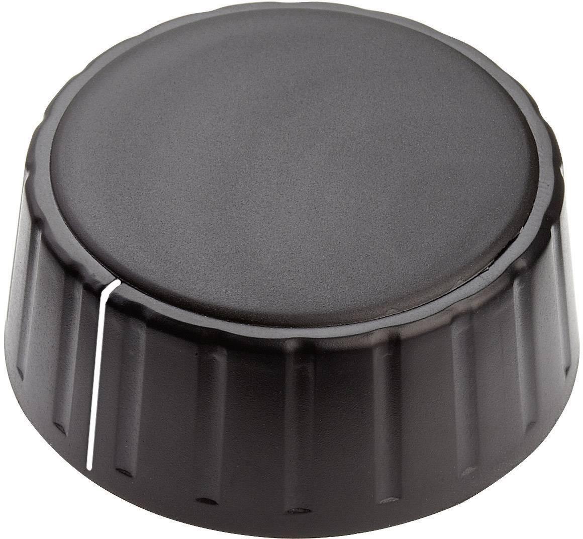 Otočný gombík Mentor 4335.6001, (Ø x v) 48 mm x 19 mm, čierna, 1 ks