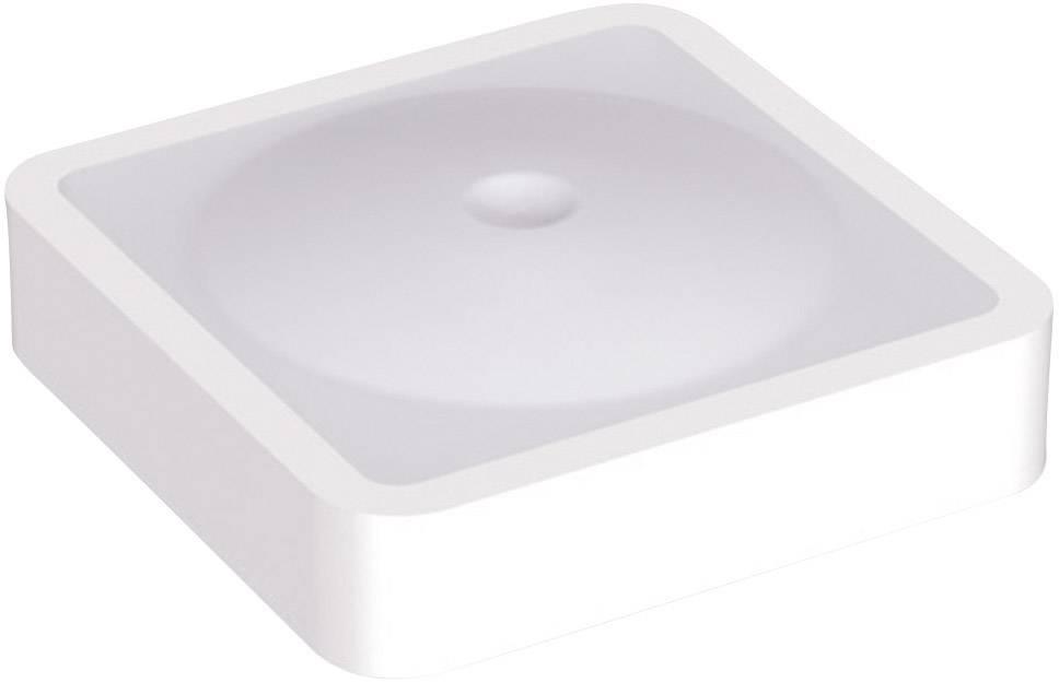 Krytka na tlačítko Mentor 2271.6002, plochý, bílá