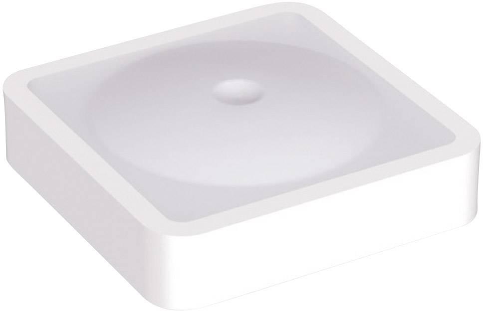 Krytka na tlačítko Mentor 2271.6004, plochý, bílá