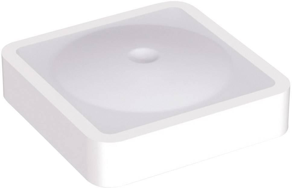 Krytka na tlačítko Mentor 2271.6005, plochý, bílá