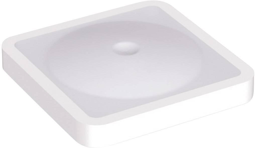 Krytka na tlačítko Mentor 2271.6006, plochý, bílá