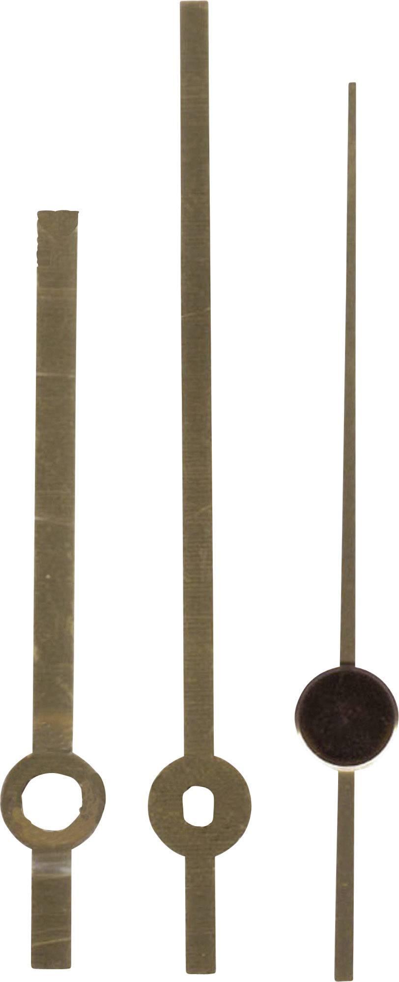 Sada hodinových ručiček Leštěné/Standard (h x m x s) 60 mm x 80 mm x 70 mm, mosaz, mosaz