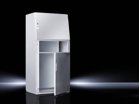 Ovládací pult Rittal TP 2695.500, 600 x 1300 mm, oceľový plech, svetlo sivá, 1 ks