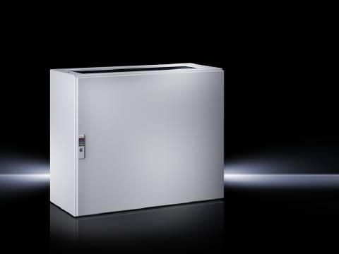 Spodní díl krabice na ovládací pulty Rittal TP 6700.500, 600 x 675 x 400 mm, ocelový plech, světle šedá , 1 ks