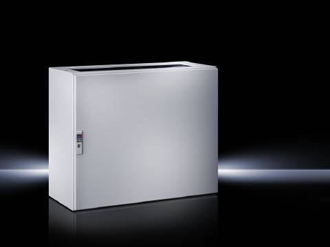 Spodný diel skrinky na ovládacie pulty Rittal TP 6700.500, 600 x 675 x 400 mm, oceľový plech, svetlo sivá (RAL 7035), 1 ks
