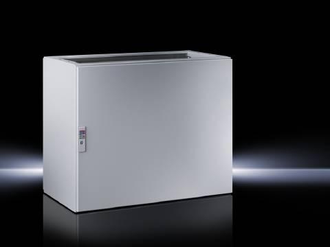 Spodní díl krabice na ovládací pulty Rittal TP 6705.500, 800 x 675 x 500 mm, ocelový plech, světle šedá , 1 ks