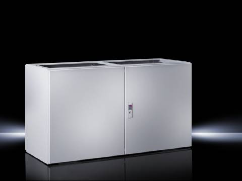 Spodní díl krabice na ovládací pulty Rittal TP 6706.500, 1200 x 675 x 500 mm, ocelový plech, světle šedá , 1 ks
