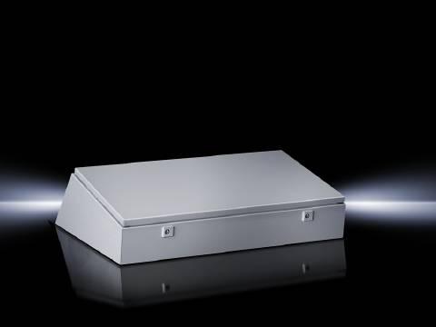 Střední díl krabice na ovládací pulty Rittal TP 6716.500, 1200 x 235 x 700 mm, ocelový plech, světle šedá , 1 ks