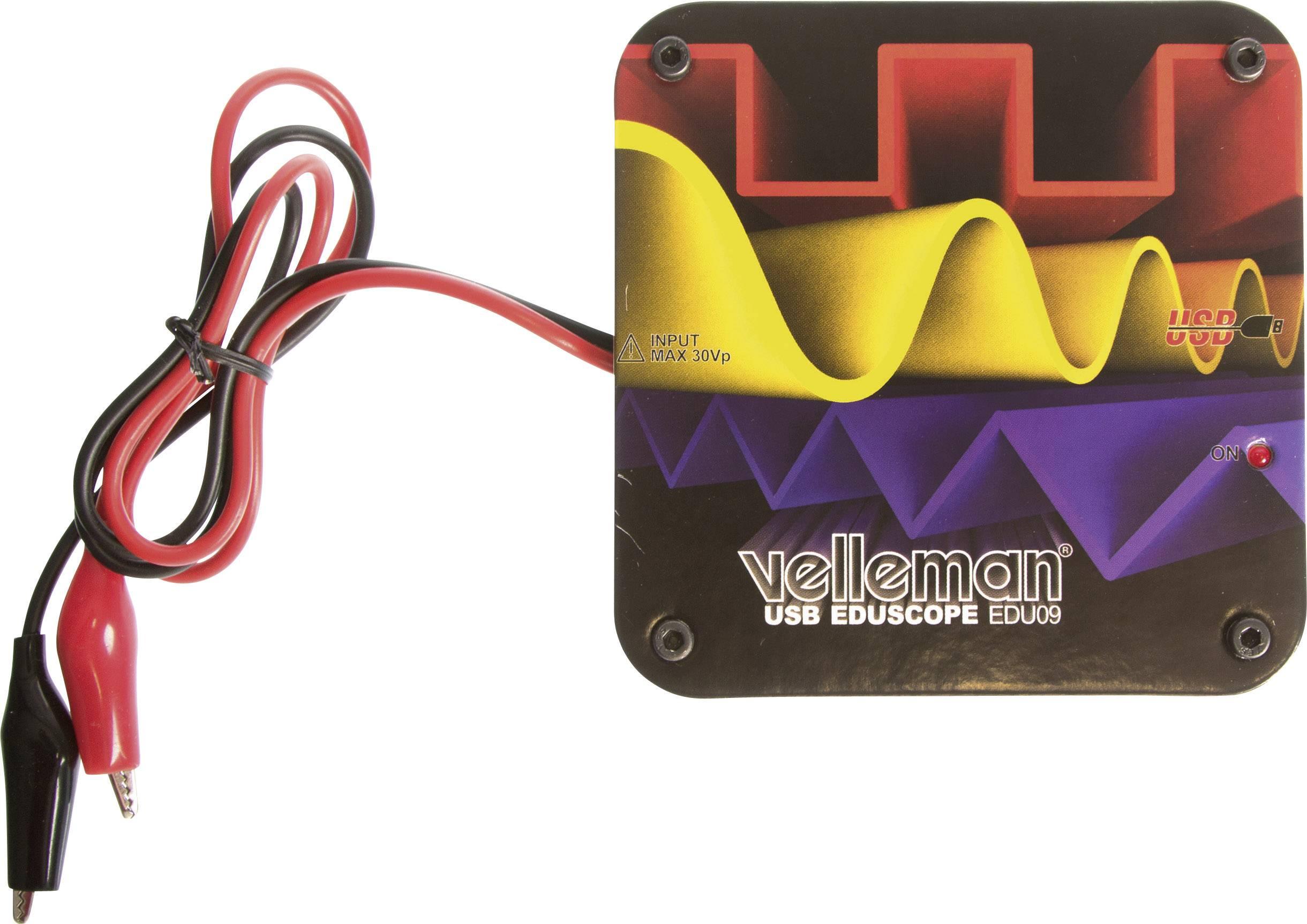 Malý osciloskop Velleman EDU09, 5 V (stavebnice)