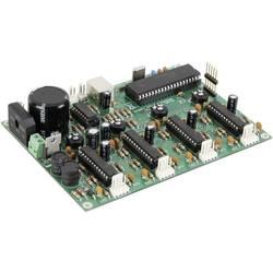 Řídicí karta Whadda K8097 pro krokový motor s USB, 4kanálová, 5 - 30 V/AC, 1 A