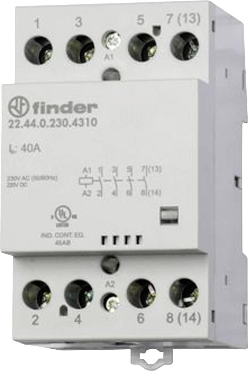 Finder 22.44.0.230.4710 22.44.0.230.4710, 230 V/DC, 230 V/AC, 40 A, 1 ks