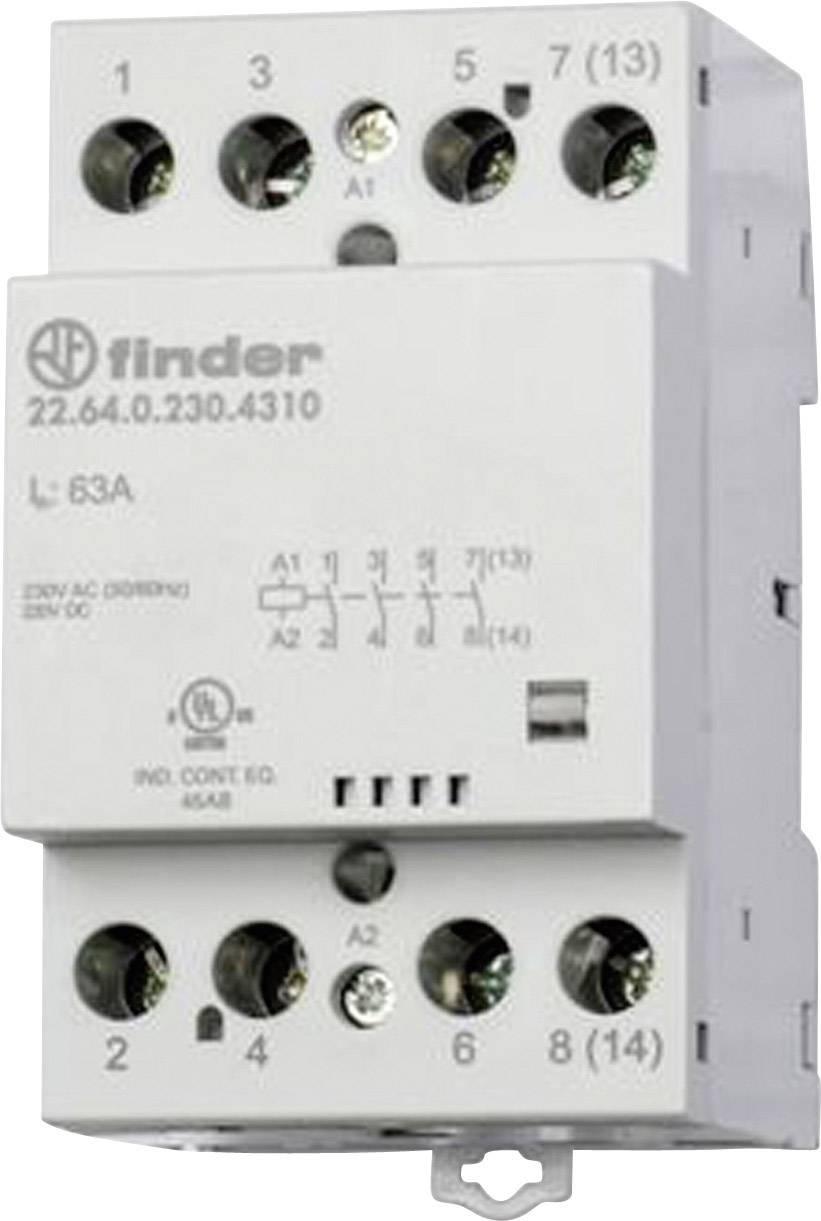 Finder 22.64.0.230.4710 22.64.0.230.4710, 230 V/DC, 230 V/AC, 63 A, 1 ks
