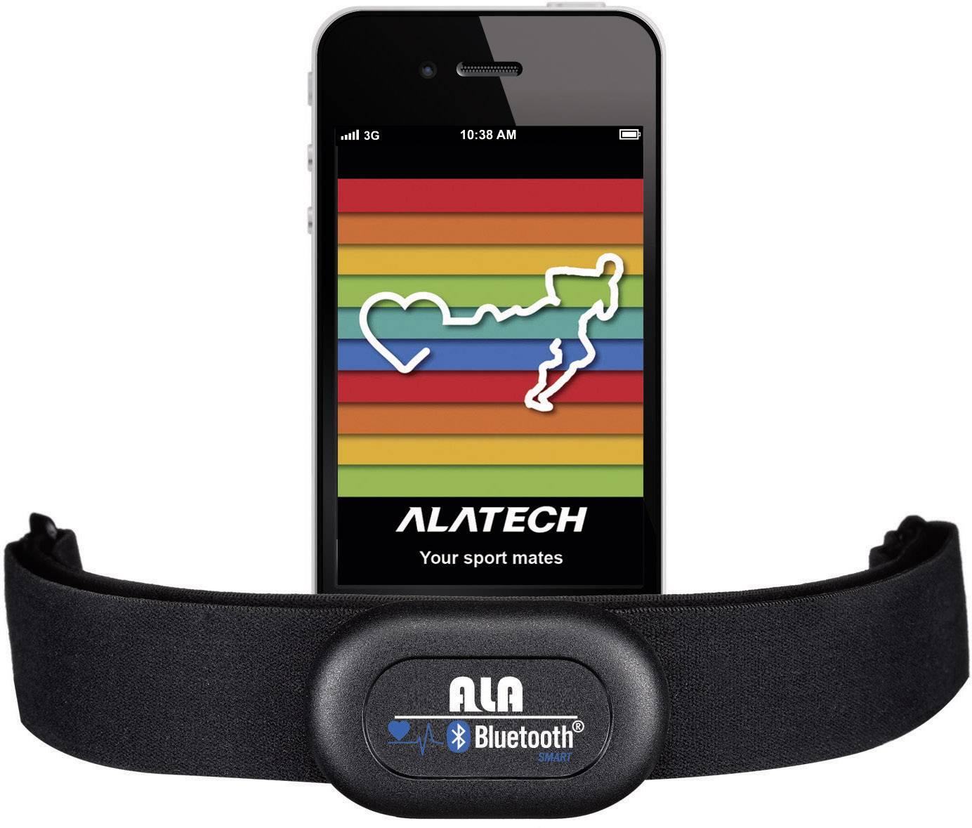 Hrudní pás Alatech Smartrunner CS009, Bluetooth
