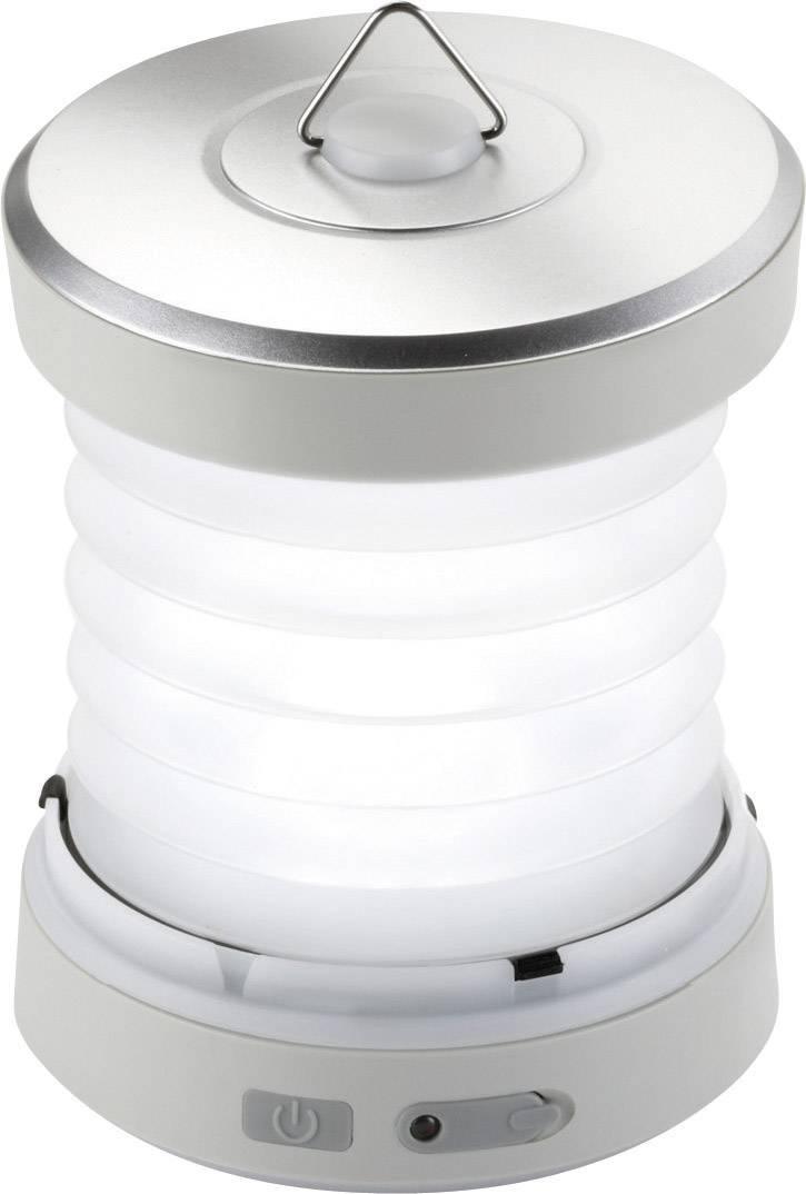 LED campingové osvetlenie Ampercell Sonia 10427, 220 g, strieborná