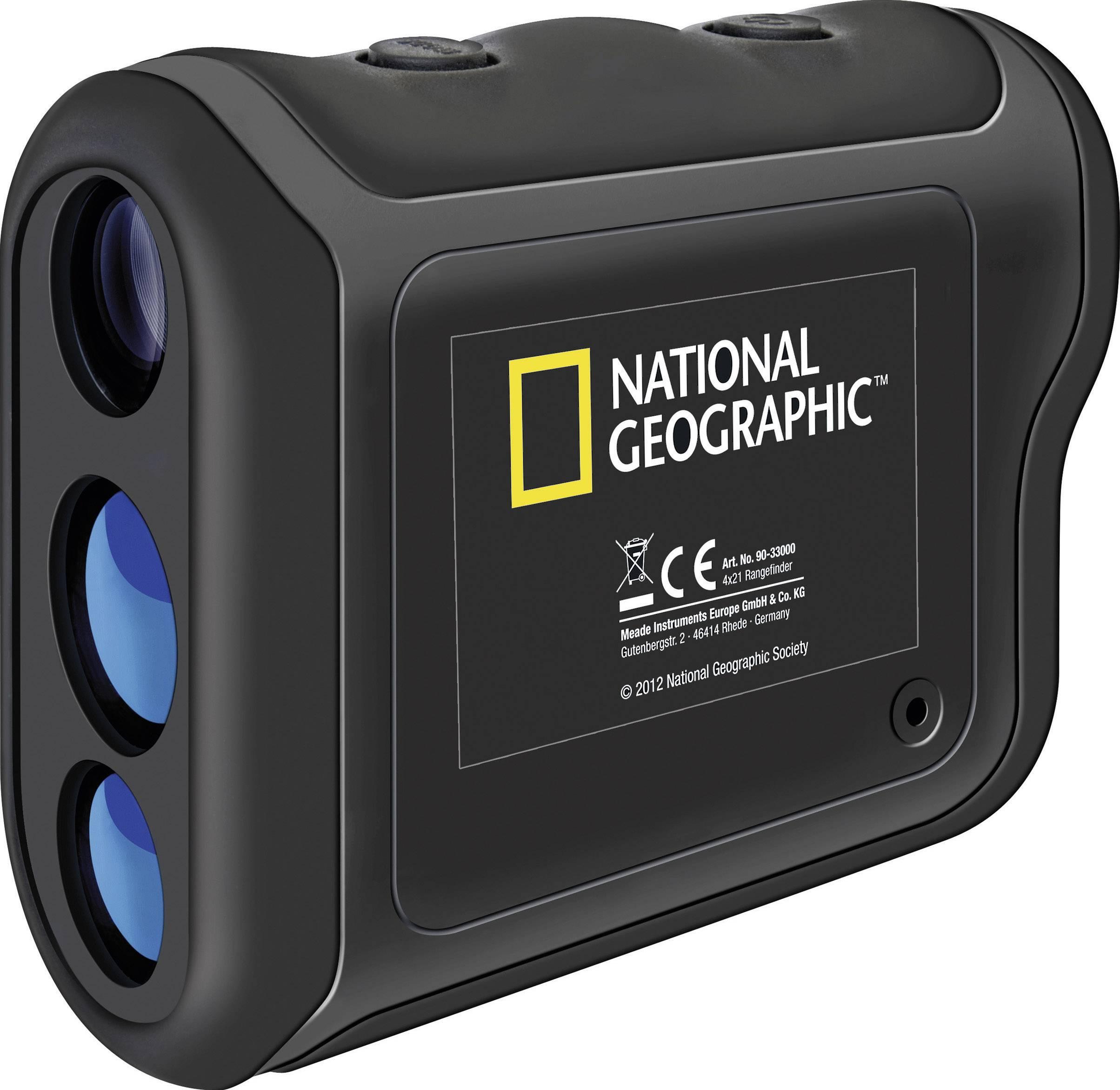 Měřič vzdálenosti National Geographic 4x21 Rangefinder, 4 x 21 mm, 5 až 800 m