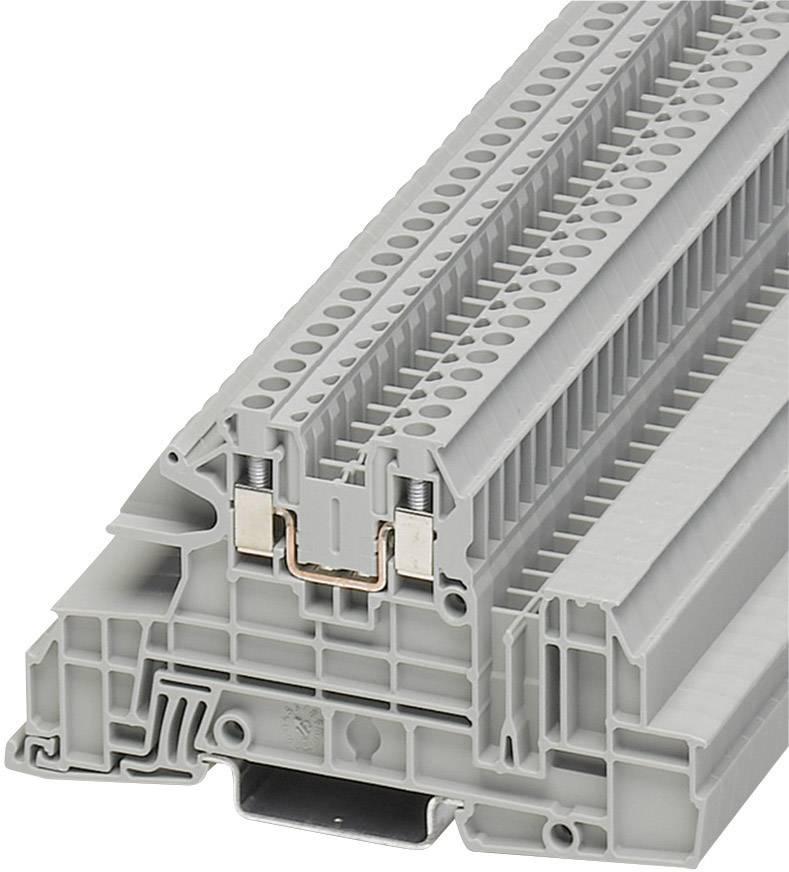 Vícenás. instalační svorka Phoenix Contact UTI 2,5-L (3076034), šroubovací, šedá