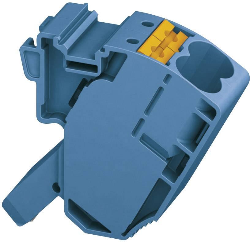 Svorka se snímací odbočkou Phoenix Contact AGK 10-PTPOWER BU (3260148), 18,5 mm, modrá