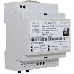 Převodník Ethernet RS-232, RS-485, Ethernet Wachendorff HD6703825M 24 V/DC
