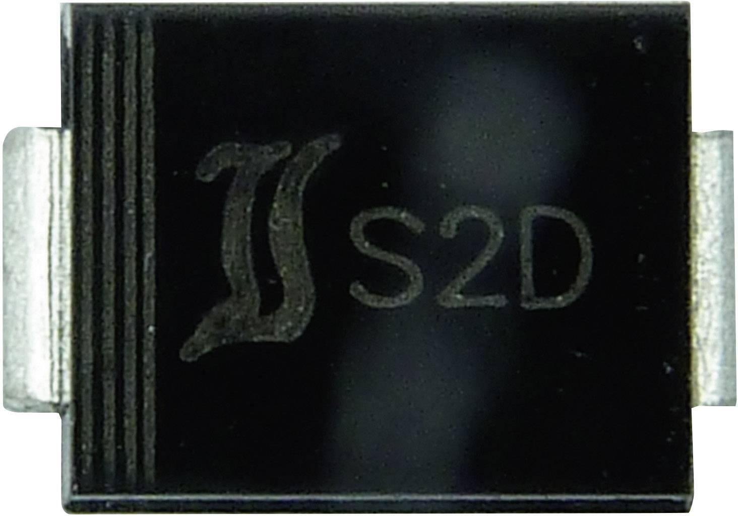 Zenerova dióda Diotec Z2SMB39, U(zen) 39 V