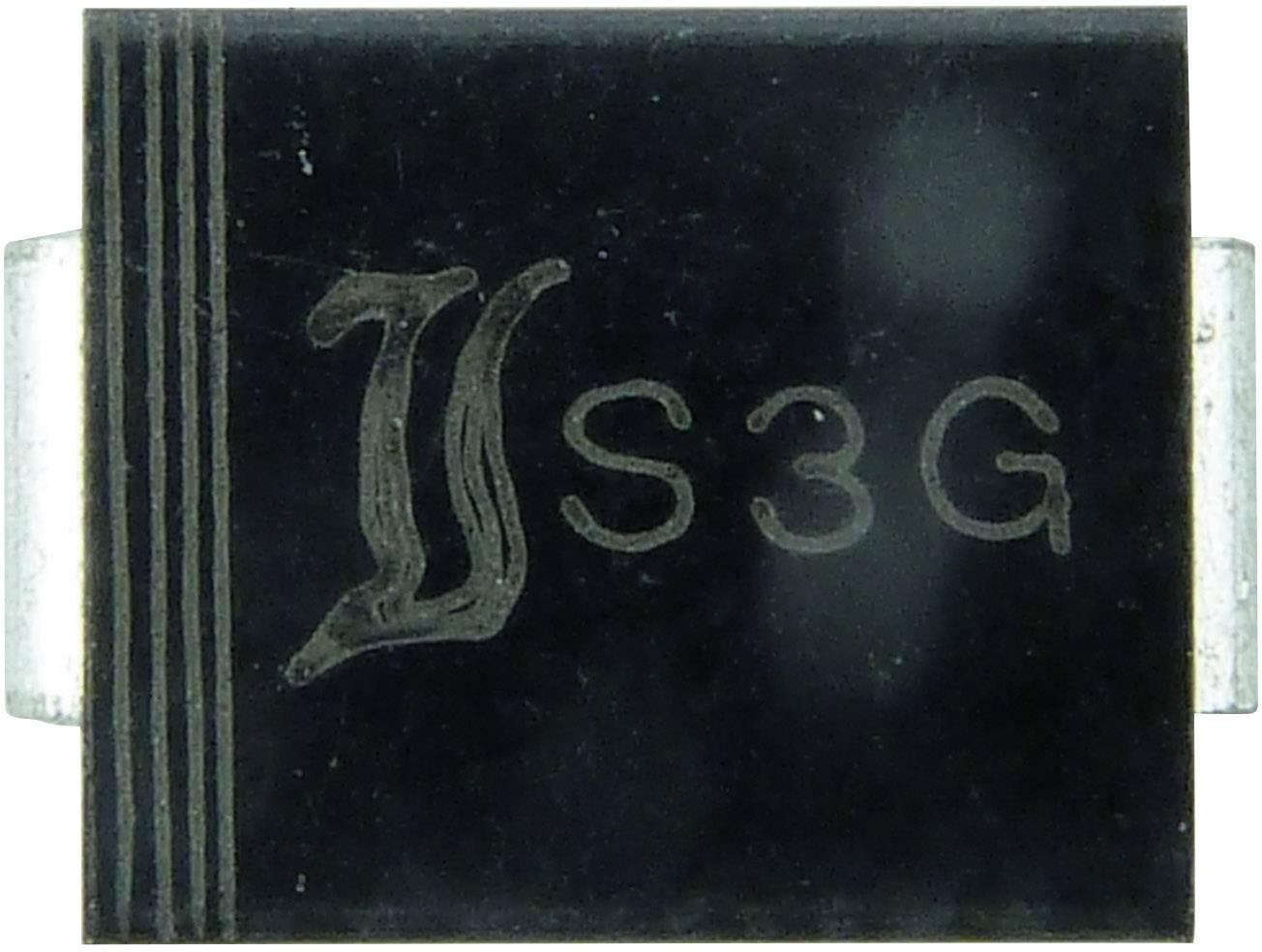 Dióda Z Diotec Z3SMC18, DO-214AB, zener. napätie 18 V