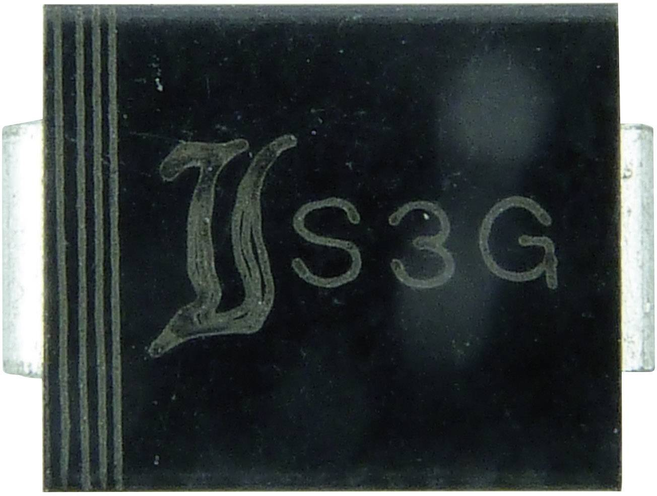 Dióda Z Diotec Z3SMC75, DO-214AB, zener. napätie 75 V