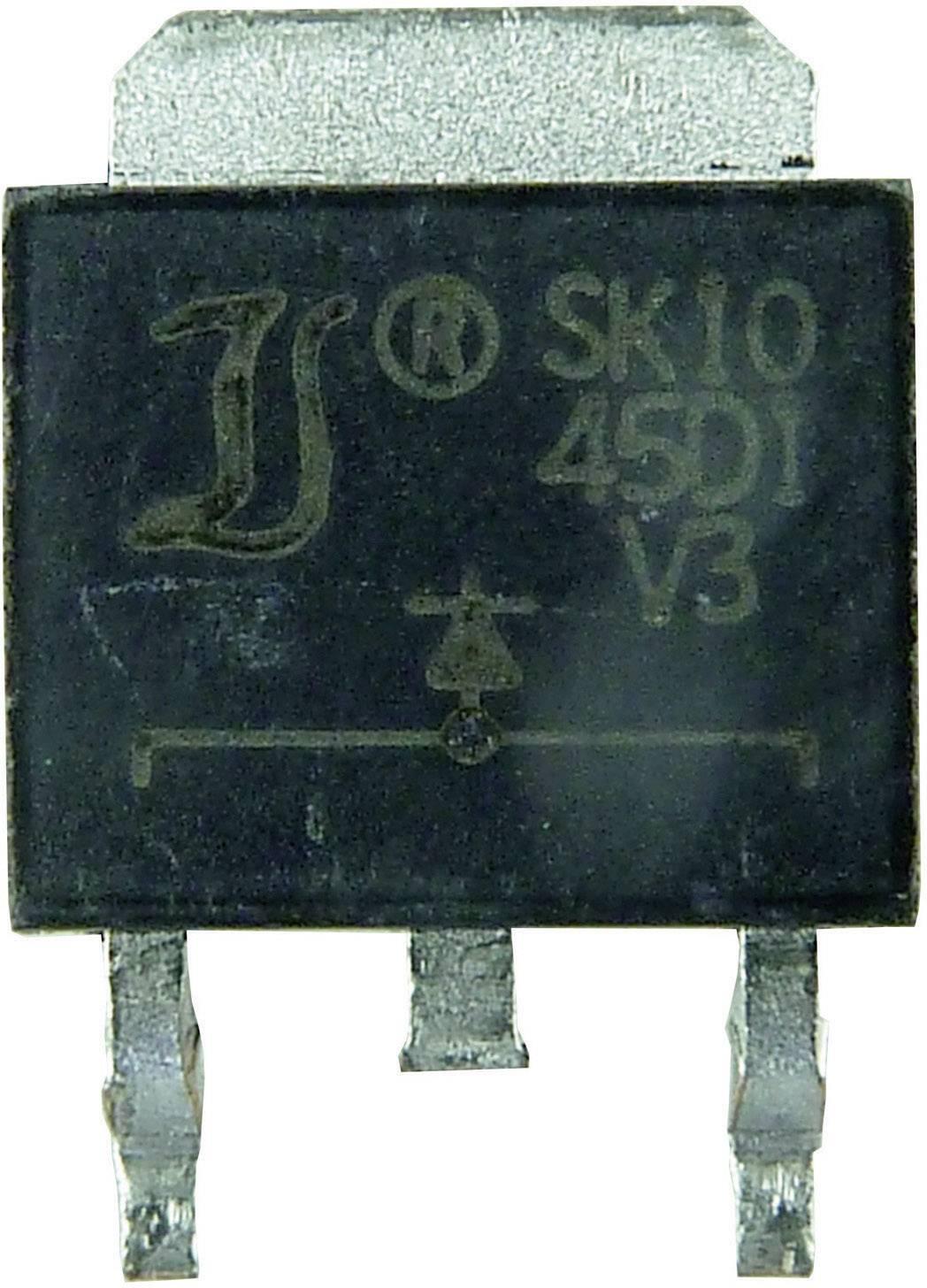 Schottkyho usmerňovacia dióda Diotec SK2045CD2, 20 A, 45 V