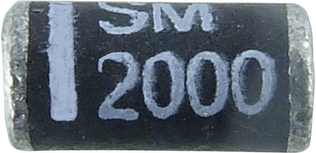 Ultrarýchla Si usmerňovacia dióda Diotec SUF4007 SUF4007 DO-213AB, 1 A, 1000 V